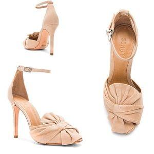 🆕 SCHUTZ Natally twist bow leather heel